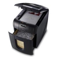 Rexel Auto+ 100X Cross Cut Shredder Black 2102559