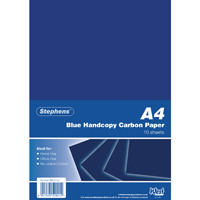 Stephens Blue A4 Hand Carbon Paper (Pack of 100) RS520252