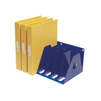 Rotadex Blue 7 Section A4 Ring Binder Filing Unit A4R/7