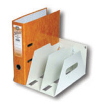 Rotadex Smoke White 3 Section A4 Lever Arch Filing Unit LAR3