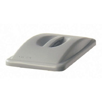 Rubbermaid Slim Jim Handle Top Lid Grey 2688-88-GRY