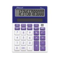 Rexel Joy Calculator Perfect Purple Pack of 1 2104236