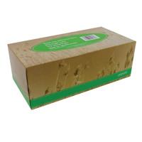 Papura White Facial Tissue Box of 100 (Pack of 9) 01512
