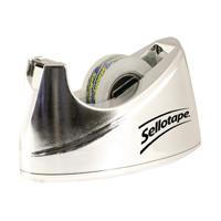 Sellotape Dispenser Chrome Small 504045