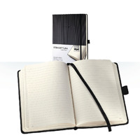 Sigel Notebook Lined 213 x 295mm Black with FOC Notebook SGL838328