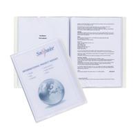 Snopake Superline A4 Presentation Book 10 Pocket Polypropylene Clear 11904