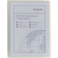 Snopake Superline A5 Presentation Book 20 Pocket Polypropylene Clear 11941