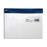 Snopake Zippa Bag S A5 Blue (Pack of 25) 12687