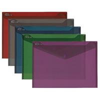 Snopake Fusion A4 Polyfile Assorted Colours Pk5 15643