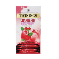 Twinings Cranberry, Raspberry and Elderflower Tea Bags (Pack of 20) F09614
