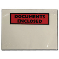 Documents Enclosed Self-Adhesive DL Document Envelopes (Pack of 100) 9743DLDE01