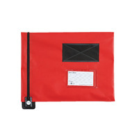 GoSecure Flat Mail Pouch Red 286x336mm FP7R