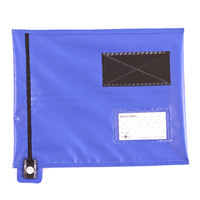 GoSecure Flat Mailing Pouch 286x336mm Blue CVF1