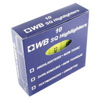 Yellow Hi-Glo Highlighter Pen (Pack of 10) HI2717 819111