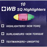 Assorted Hi-Glo Highlighter (Pack of 10) 8440PK10