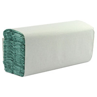 Whitebox 1 Ply Green C-Fold Hand Towels (Pack of 2880) WX43094