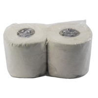 White 200 Sheet Toilet Roll (Pack of 48) WX43541