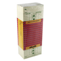 Olivetti White Time Clock Cards (Pack of 250) GBL2010