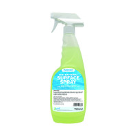 2Work Antibacterial Surface Spray 750ml (Pack of 6) 2W04586