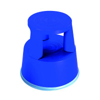 2Work Plastic Step Stool Blue T7/Blue