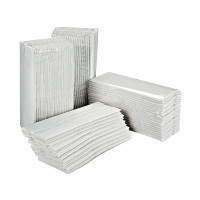 2Work White 2-Ply C-Fold Hand Towels 217mm x 310mm (Pack of 2355) HC2W23VW