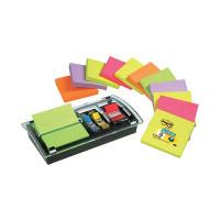 Post-it Designer Combi Note Dispenser Black DS100-VP