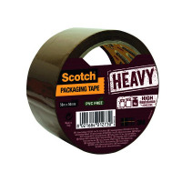 Scotch Heavy Duty 50mmx50m Brown Packaging Tape HV.5050.S.B