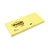 Post-it Notes 38 x51mm Canary Yellow (Pack of 12) 653Y