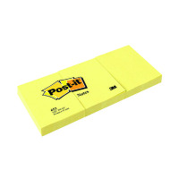 Post-it 38x51mm Canary Yellow Notes (Pack of 12) 653Y