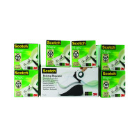 Scotch Magic Tape 810 19mm x 33m (Pack of 16) with Free Dispenser 8-1933R16060