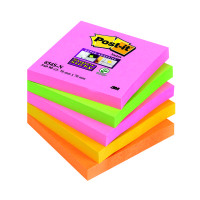 Post-it Super Sticky 76x76mm Cape Town Notes (Pack of 5) 654-SN
