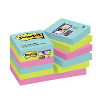 Post-it Super Sticky Notes Miami 47.6x47.6mm 622-12SS-MIA