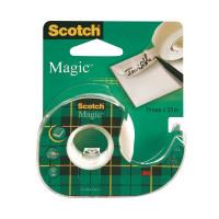 Scotch Magic Tape 19mmx25m on Dispenser (Pack of 12) 8-1925D