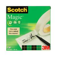 Scotch Magic Tape 810 Solvent-Free 25mmx66m Transparent 8102566