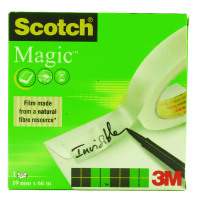 Scotch Magic Tape 19mm x 66m 3 For 2 3M810100