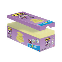 Post-it Notes Super Sticky 76 x 76mm Z-Notes Canary Yellow (Pack of 20) R330-SSCY-VP20