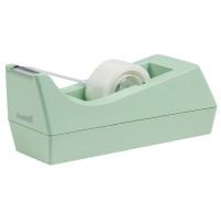 Scotch Tape Dispenser Mint With One Roll of Scotch Magic Tape 19mmx8.89m C38-M-EU