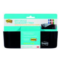 Post-it Dry Erase Accessory Tray w/ 4 Large Command Strips DEFTRAY-EU