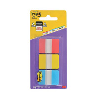 Post-it Strong Index Full Colour Red/Yellow/Blue (Pack of 66) 686-RYB