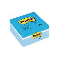 Post-it Notes Blue Colour Cube 76 x 76mm 2040B