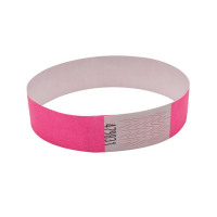 Announce Wrist Bands 19mm Pink AA01837