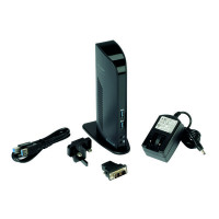 Kensington Black USB 3.0 Dual Video Docking Station K33972EU