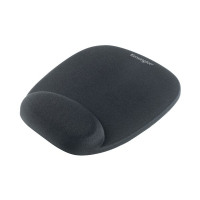 Kensington Foam Mouse Pad With Integral Wrist Rest Black 62384