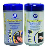 AF Phone-Clene/Screen-Clene Wipes Tub Bundle APHCSCR100T