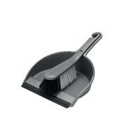 Addis Dustpan and Soft Brush Set Metallic 510390