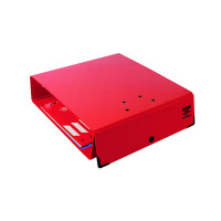 Arianex Red Double A4 Lever Arch File DA4R
