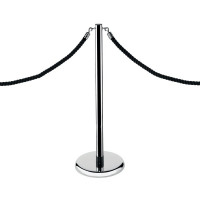 Economy Rope Stand Chrome RS-CL-CH-SET
