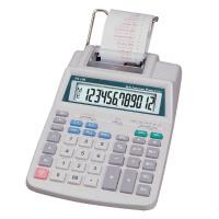Aurora White 12-Digit Printing Calculator PR710