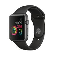 Apple Watch Series 3 Aluminium Case 42mm Black Sport Band GPS Space Grey MQL12B/A