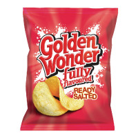 Golden Wonder Ready Salted Crisps (Pack of 32) 121300